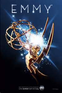 Awarding an Emmy